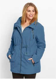 Parka, bpc bonprix collection, jeansblauw