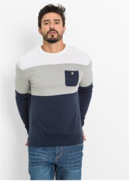 Trui, bpc bonprix collection, donkerblauw gestreept