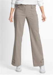 Stretchbroek «recht», bpc bonprix collection, taupe