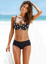Beugel bikinitop, bpc selection, zwart/wit