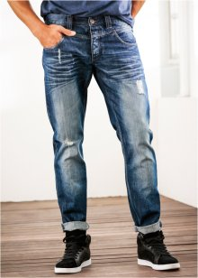 Jeans loose fit tapered, RAINBOW, blue stone used