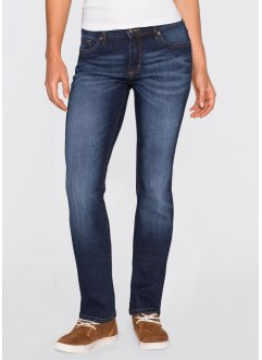 Stretchjeans WIDE, John Baner JEANSWEAR, donkerblauw