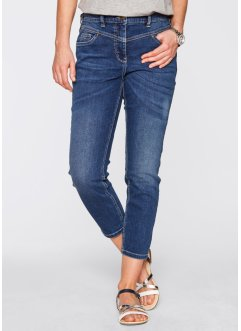 7/8-stretchjeans, bpc bonprix collection, blue stone used