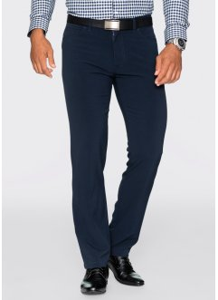 Broek regular fit straight, bpc selection, donkerblauw