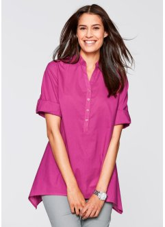 Blouse, bpc bonprix collection, fuchsia