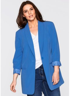 Longblazer, bpc bonprix collection, gletsjerblauw