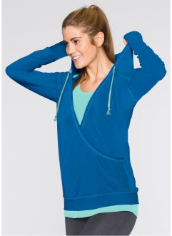 Sweatshirt, bpc bonprix collection, Atlantisch blauw