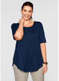 Longshirt, bpc bonprix collection, donkerblauw