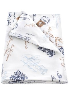 Grand foulard «Vintage», bpc living, wit