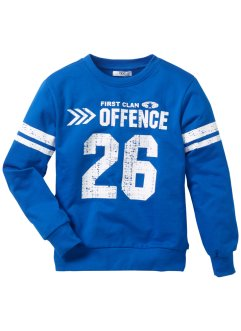 Sweatshirt, bpc bonprix collection, azuurblauw