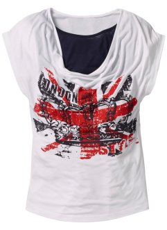 T-shirt, bpc bonprix collection, wit