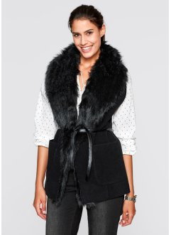 Vest, bpc bonprix collection, zwart