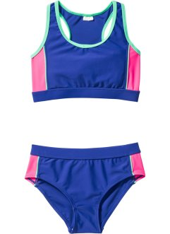 Bikini (2-dlg.), bpc bonprix collection, blauw/roze