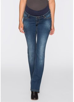 Zwangerschapsjeans bootcut, bpc bonprix collection, blue stone