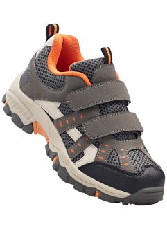Trekkingschoenen, bpc bonprix collection, antraciet/oranje