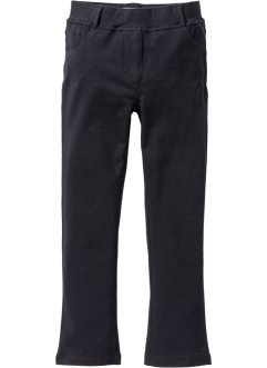 Stretchbroek bootcut, bpc bonprix collection, zwart