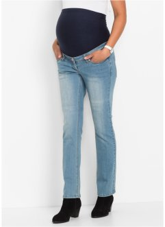 Zwangerschapsjeans, bpc bonprix collection, medium blue bleached