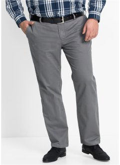 Chino regular fit, bpc bonprix collection, rookgrijs