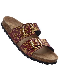 Slippers, bpc selection, rood/goudkleur
