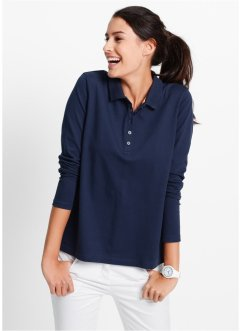 Poloshirt, bpc bonprix collection, donkerblauw
