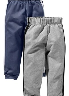 Sweatbroek (set van 2), bpc bonprix collection, indigo+grijs gemêleerd