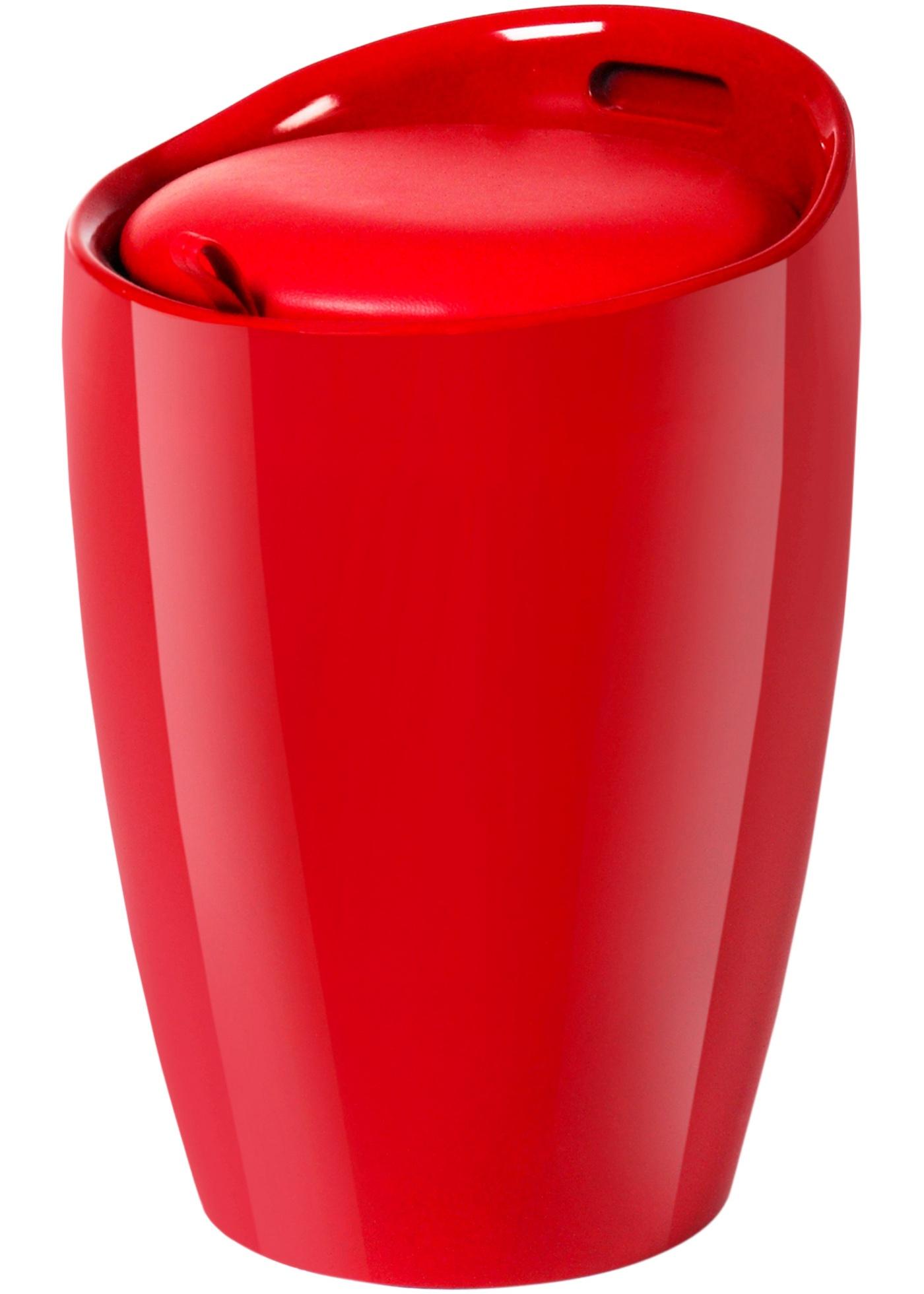 Bonprix Wasmand Candy rood - Meubel Mooi