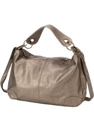 Schoudertas, bpc bonprix collection, taupe metallic