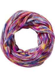 Tunnelsjaal, bpc bonprix collection, fuchsia/multicolor