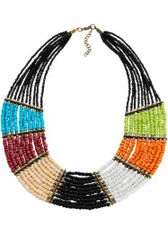 Collier, bpc bonprix collection, zwart/multicolor