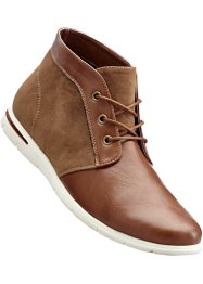 Veterschoenen, bpc bonprix collection, cognac