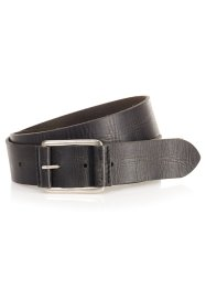 Leren riem, bpc bonprix collection, zwart