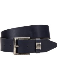 Leren riem «Petersburg», bpc bonprix collection, donkerblauw