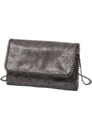 Clutch «Metallic», bpc bonprix collection, zilverkleur