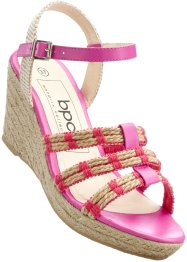Sandaaltjes, bpc bonprix collection, middenfuchsia