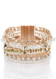 Armband, bpc bonprix collection, roodgoudkleur