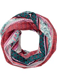 Tunnelsjaal, bpc bonprix collection, mint/pink