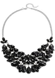 Collier, bpc bonprix collection, zilverkleur/zwart