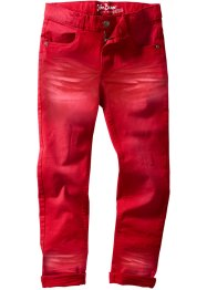 Broek slim fit, John Baner JEANSWEAR, donkerrood