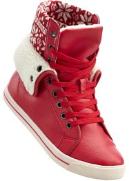 Sneakers, bpc bonprix collection, rood