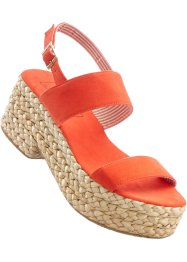 Sandalen, bpc bonprix collection, oranje