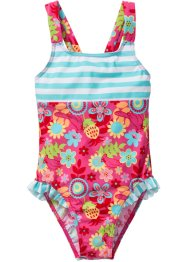 Badpak, bpc bonprix collection, pink/turkoois