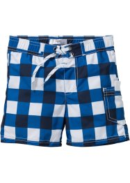 Zwemshort, bpc bonprix collection, azuurblauw/wit geruit