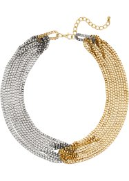 Collier, bpc bonprix collection, zilverkleur/goudkleur