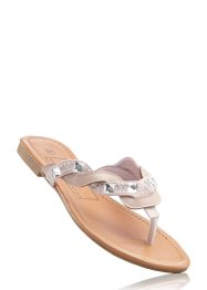 Teenslippers, bpc bonprix collection, nude