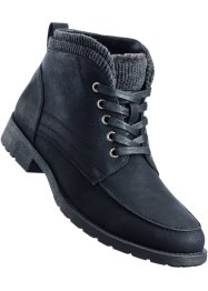 Veterboots, bpc bonprix collection, zwart
