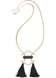Ketting, bpc bonprix collection, goudkleur/zwart