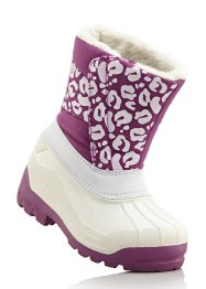 Winterlaarzen, bpc bonprix collection, wit/pink