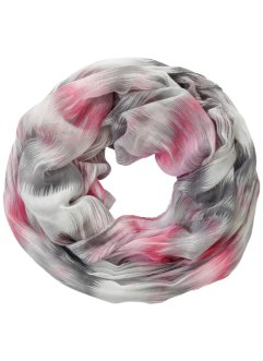 Tunnelsjaal, bpc bonprix collection, pink/wit
