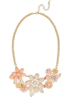 Collier, bpc bonprix collection, goudkleur/roodgoudkleur