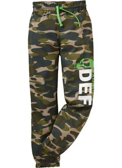 Sweatbroek, bpc bonprix collection, camouflage